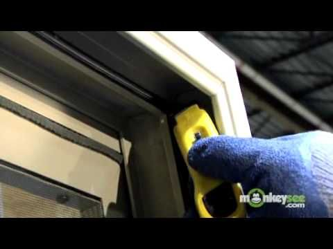 Replacing Weather Stripping In A Sliding Glass Door