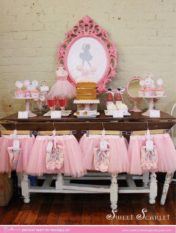 Best 25 tutu party theme ideas on pinterest tutu for Ballerina party decoration