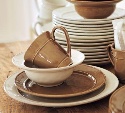 Cambria Dinnerware Stone Pottery Barn I Love Amp Want