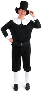 PartyBell.com - Plymouth Pilgrim Male Adult Plus Costume