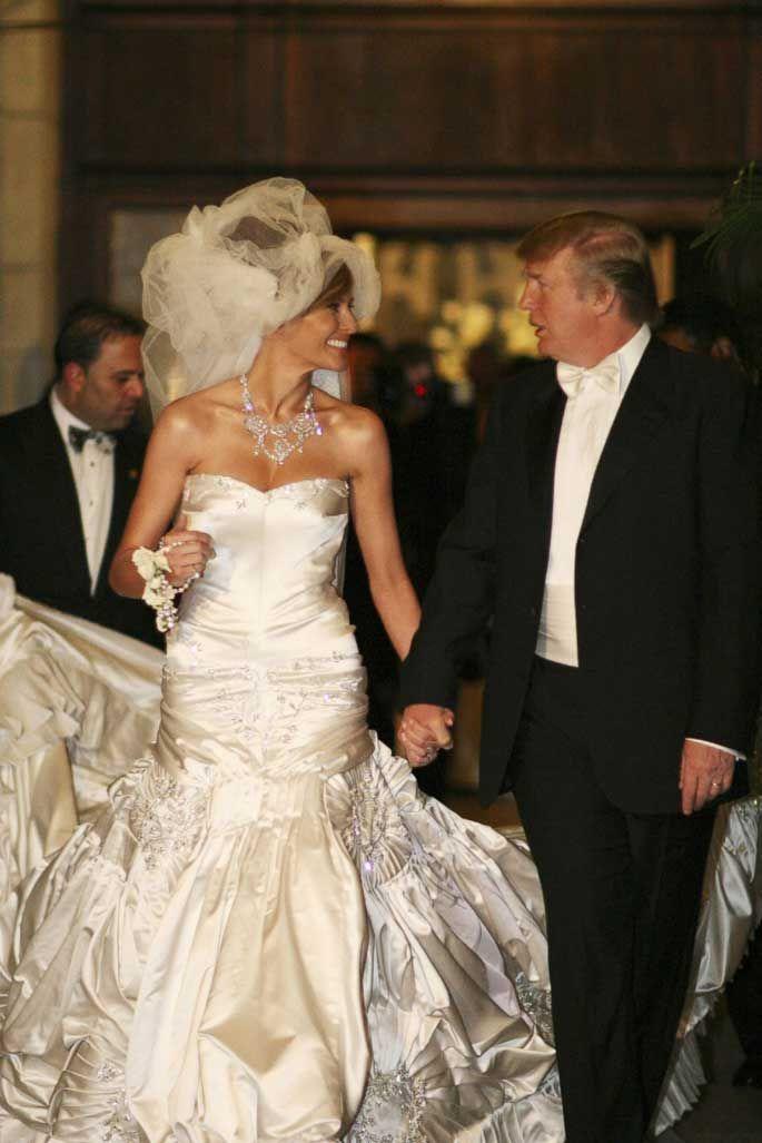 mariage mélania et donald trump