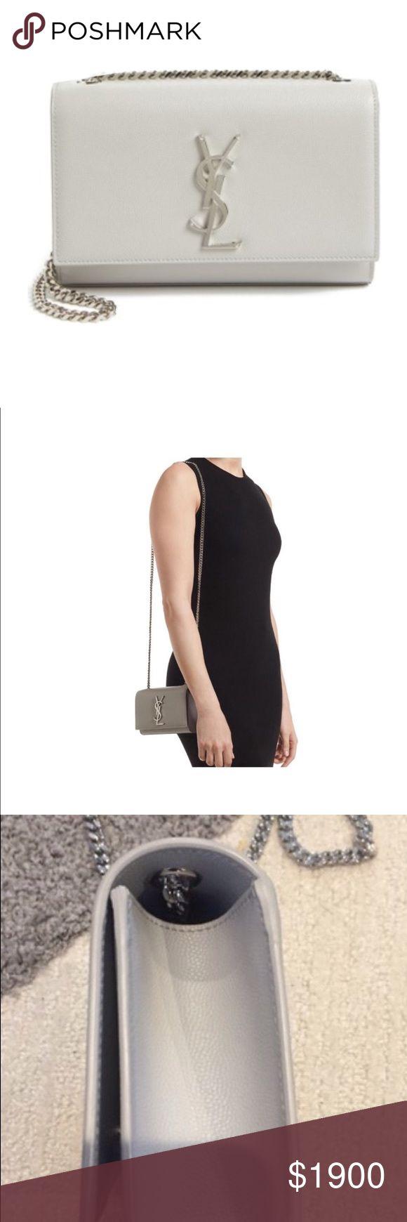 Saint Laurent Classic Kate Monogram leather shoulder bag