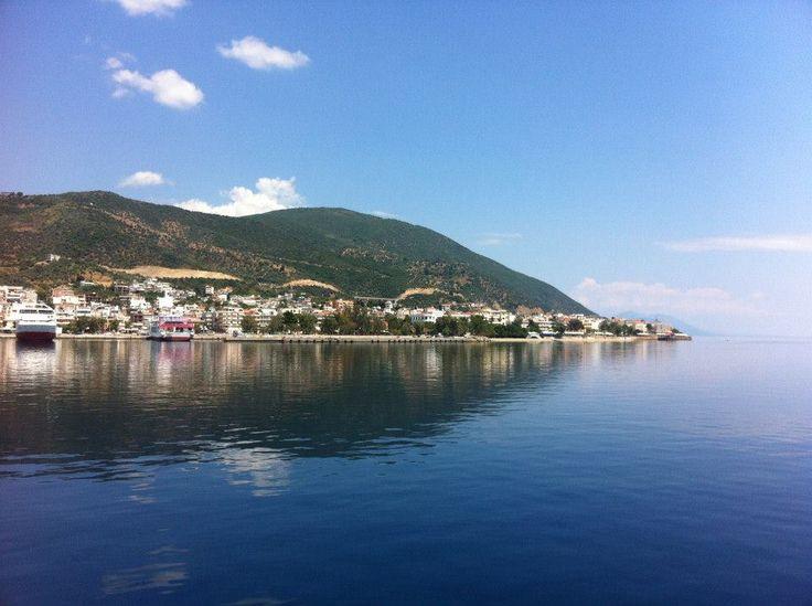 Edipsos Evia Island Greece