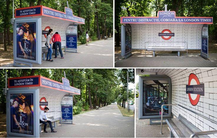 London Transit Shelter #OOH #advertising