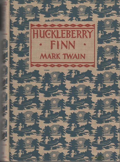 "Huckleberry Finn - What did Hemingway say?  ""All modern American literature comes from one book by Mark Twain called Huckleberry Finn."""
