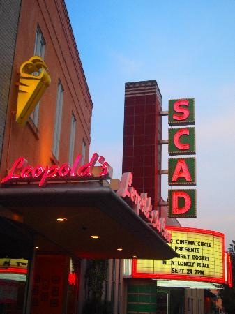 Savannah Historic District: Leopold's and the SCAD Theatre
