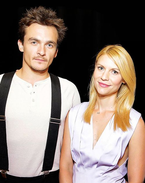 Rupert Friend & Claire Danes...he's cute but he plays Mr. Wickham. No wonder Lizzie fell in love with him.