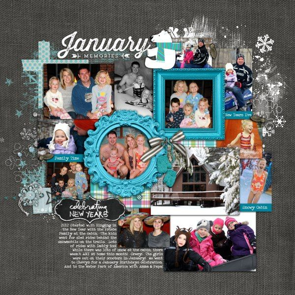 #YIR #Project365 #year-in-review with #chalkboard style from Lori at DesignerDigitals.com