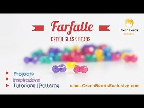 Czech Glass Farfalle Beads – Butterflies That Will Never Fly Away! | CzechBeadsExclusive