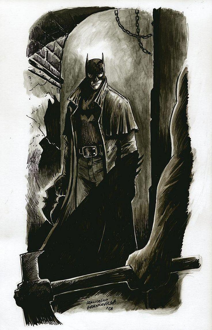Batman commission by Francesco Francavilla