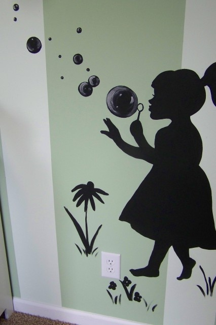 roomWall Decor, Little Girls, Daughters Room, Kids Room, Girls Room, Room Ideas, Wall Decal, Blowing Bubbles, Girl Rooms