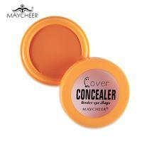 Maycheer марка макияж глаз консилер крем крышка мешки под глазами темные круги увлажняющий масло-контроль лицо грунтовка контур палитра