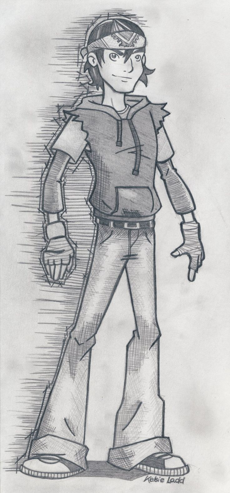 tmnt CaseyxApril   Casey Jones by ~SharpBluePencils on deviantART  Casey Jones is back!!!! (2012) version \(^.^)/