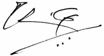 Signature g