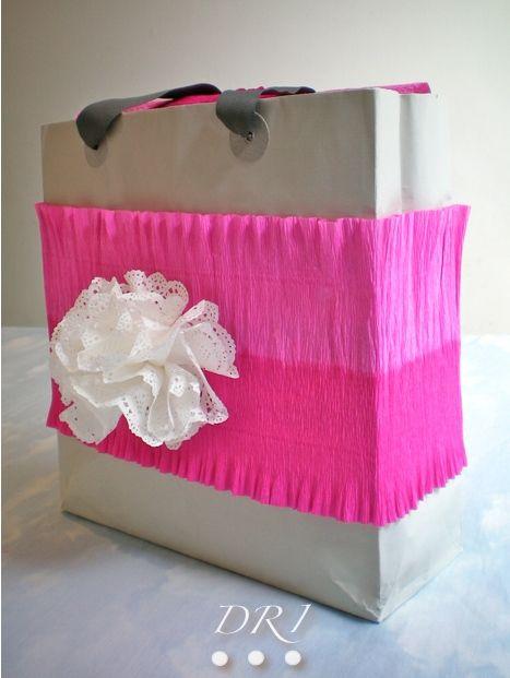 M s de 1000 ideas sobre bolsas de papel madera en - Bolsas para decorar ...