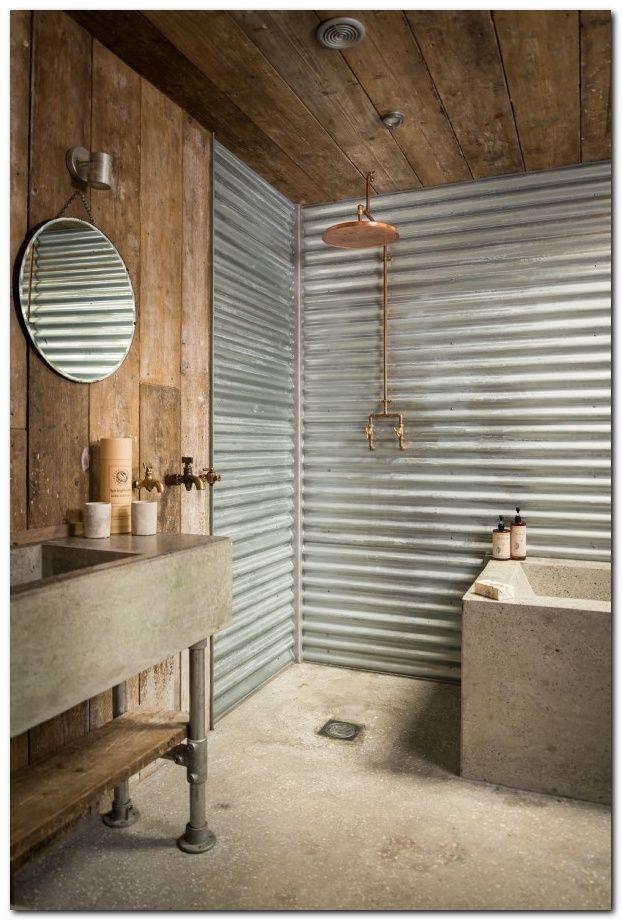 Laminate Flooring On Walls 13 Rustic Bathroom Designs Tiny House Bathroom Bathroom Shower Design
