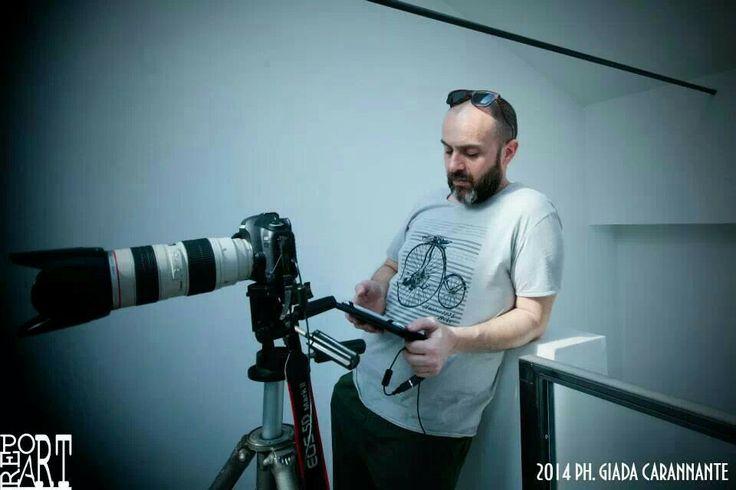 Shooting Monoki Scomposer in Prato Galleria Lato