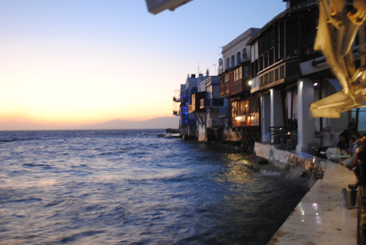 Little Venice. Mykonos.