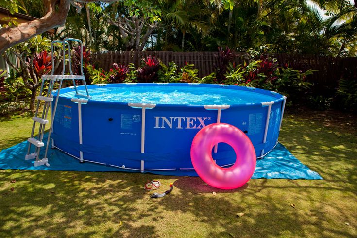 25 best ideas about piscine gonflable on pinterest - Pouf gonflable exterieur ...