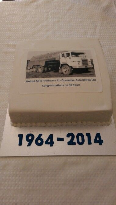50th Anniversary AGM cake