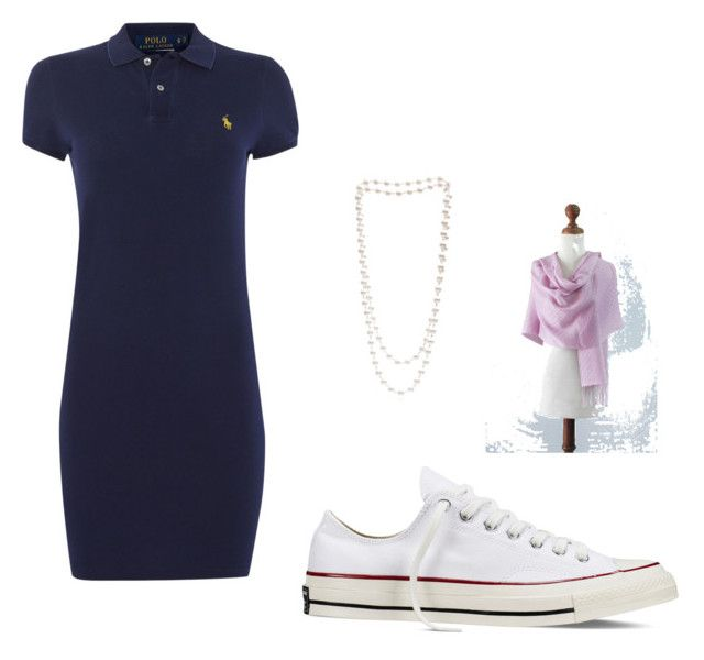 """""""Miss Sporty Classy"""" by monja-blansdorf on Polyvore featuring Mode, Converse, Polo Ralph Lauren, The Pearl Quarter und NOVICA"""