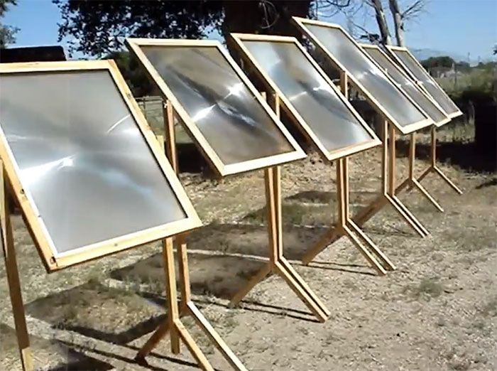 Build a Fresnel Lens Solar Cooker for Free | Off Grid World