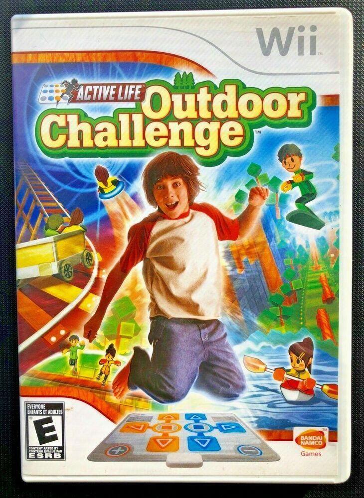 ACTIVE LIFE OUTDOOR CHALLENGE (Nintendo Wii, 2008) GAME