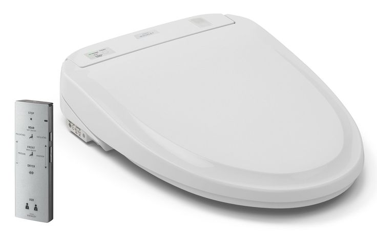 Connect™ Washlet Elongated Toilet Seat Bidet