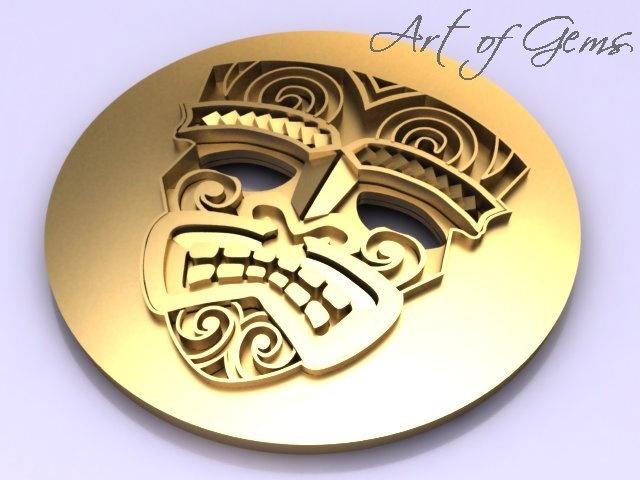 Tribal! Cool lapel pin inspired by #Urge2 studios designs #ArtofGems