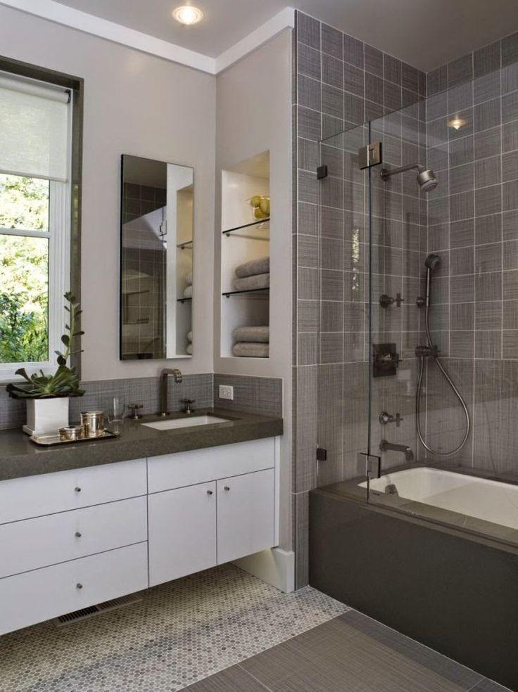 Modernos baños pequeños