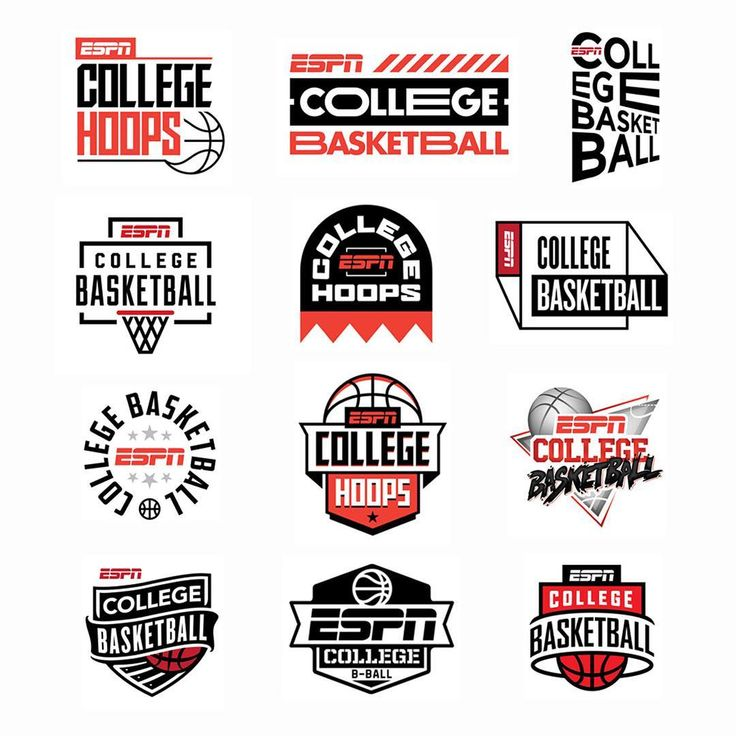 "834 Likes, 6 Comments - Lincoln Design Co. (@lincolndesignco) on Instagram: ""@espn college basketball #branding #lincolndesignco @logoinspirations #logoinspirations""  #logo"