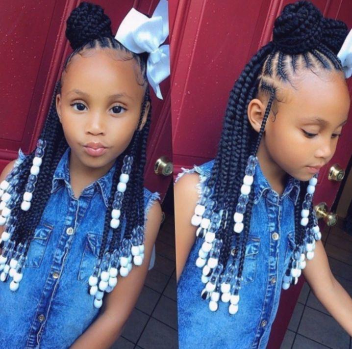 Hairstyles For School Kids Black Pinkhair Reddress Lipstick Black Hairstyles Kids Lipstick P In 2020 Kids Hairstyles Girls Lil Girl Hairstyles Kids Hairstyles