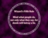 Wizard's Fifth Rule Terry GoodKind- Sword of Truth Series