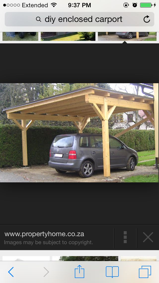 Summer 2014 Top To Do Car Port Attached To Garage Fully