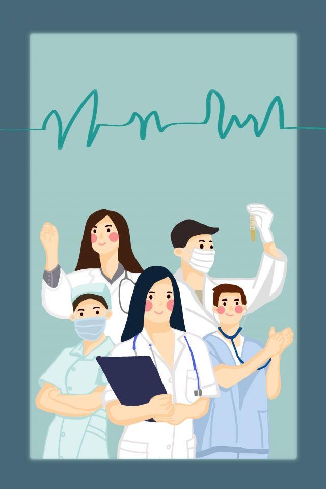 Medical Team People Image Inspirasi Desain Grafis Keperawatan Seni Islamis