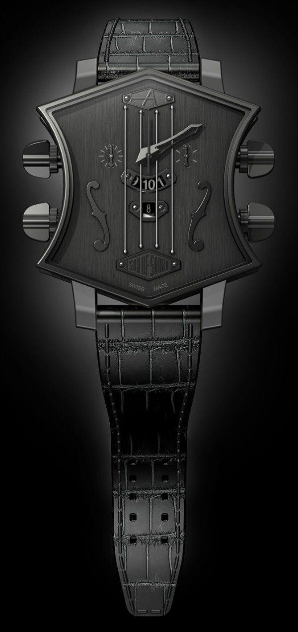 #ArtyA Swiss watches #Guitar #Luxury