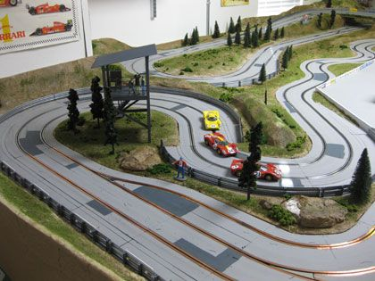 road course slot car tracksslot