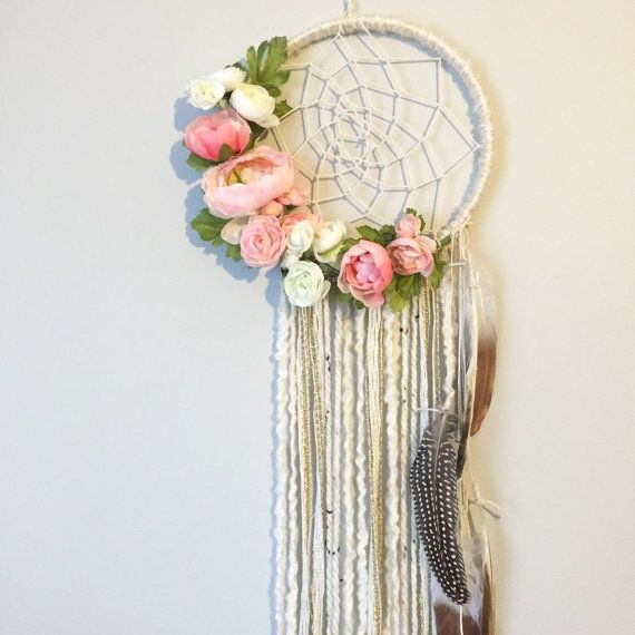 Dreamcatcher Boho Dreamcatchers Flower by BlairBaileyDesign