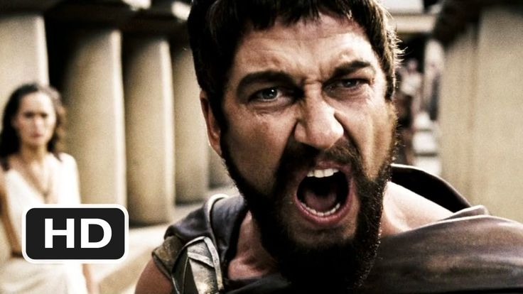 """""""You bring the crowns and heads of conquered kings to my city steps. You insult my queen. You threaten my people with slavery and death! Oh, I've chosen my words carefully, Persian. Perhaps you should have done the same!"""" --King Leonidas  #MovieQuotes  https://www.youtube.com/watch?v=4Prc1UfuokY"""