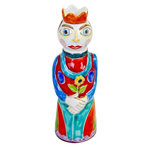 Ceramiche De Simone - Kings & Kings's Head - Queen - PL255PB - Regina