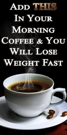 Add One Teaspoon Of THIS In Your Morning Coffee & You Will Lose Weight Fast