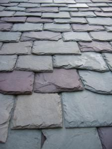 Slate Roof - traditional european method for keeping homes cooler and deflecting the suns heat - perfect for an Arizona home!