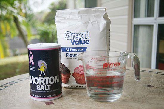 How To Make Salt Dough Decorations Microwave