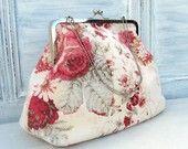Vintage Style Frame Bag Sewing Pattern