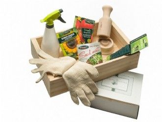 Gardening Gift Ideas Seed Tray & Seedling Potter Gift