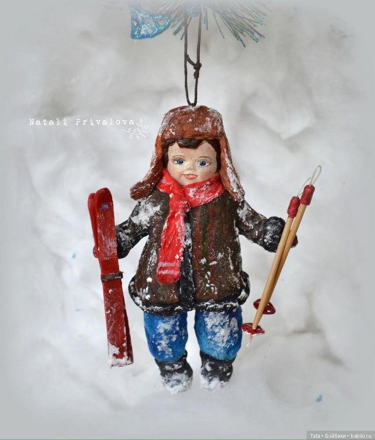 Ватные игрушки на елку, автор Наталья Привалова. Скоро Новый год! Как нельзя кстати посмотреть эти игрушки и почувствовать как приближается