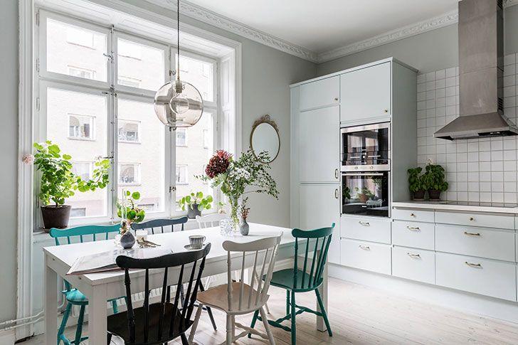Нежные пастельные тона в интерьере современной квартиры (72 кв. м) | Пуфик - блог о дизайне интерьера