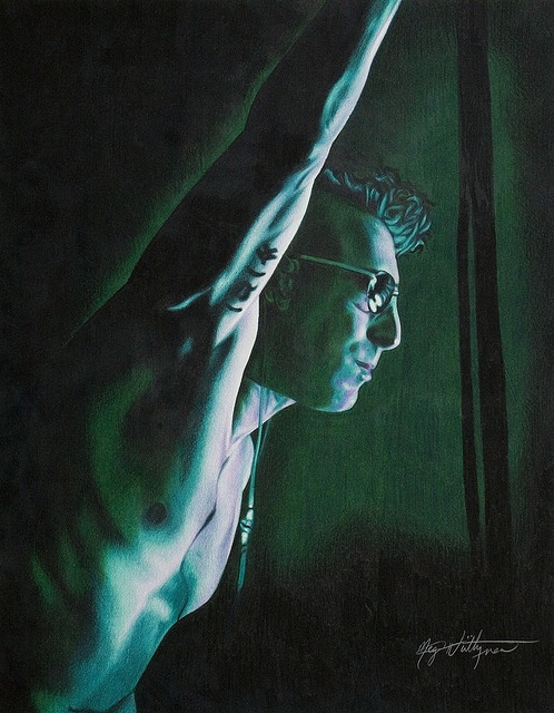 Maynard James Keenan of Tool - Coloured Pencil Drawing by beautyinmetal AKA 'M' from S Photography