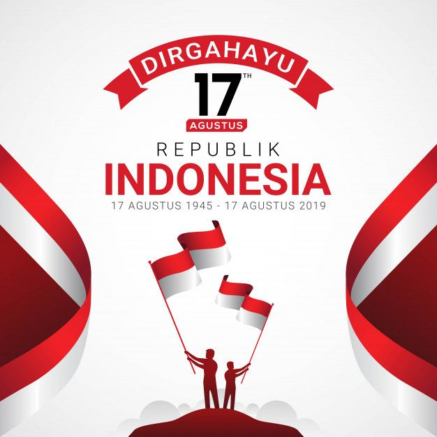 Happy Indonesia Independence Day Greeting Card Independence Day Greeting Cards Independence Day Greetings Indonesia Independence Day