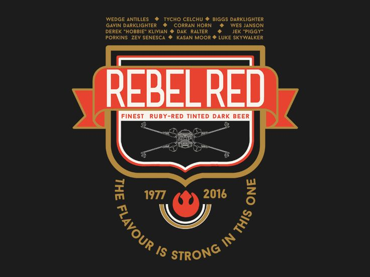Rebel Red Squadron by Andrei Nicolescu